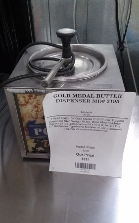 GOLD MEDAL BUTTER DISPENSER MD# 2195
