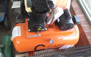 C-Aire Compressor 30 Gallon Air Compressor FOR SPRINKLERS