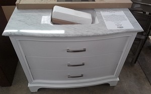 "Allen + Roth 42"" Vanity Base and Top"
