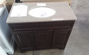 "Style Selections 36"" Vanity with Top With Mirror"