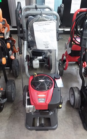 Briggs and Stratton 2800 PSI Pressure Washer