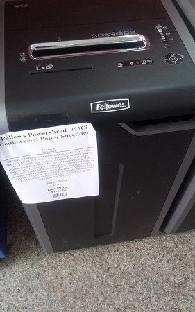 Fellows Powershred  325Ci Commercial Paper Shredder