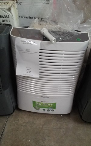 Soleus Air 95 Pint Dehumidifier