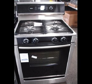 Bosch Stainless Steel Dual Fuel Gas Range