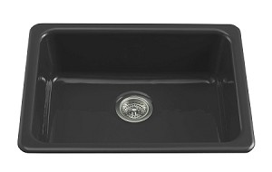 KOHLER Iron/Tones Sink BLACK MD# K-6585-7