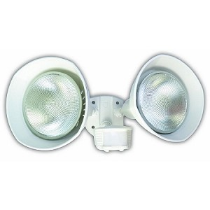 Designers Edge Motion Activated Flood Light White