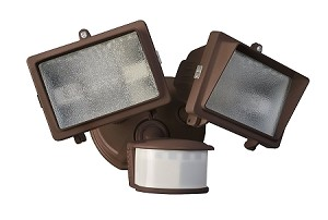Designers Edge 300 Watt Security Flood Light Bronze