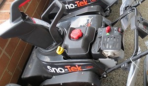 SNO TEK Single Stage Snow Blower MD# SS22